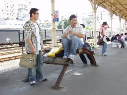 台中火車站月台裝置藝術