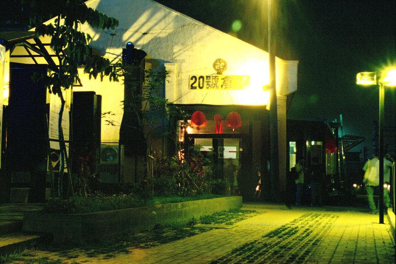 20號倉庫開幕初期正門夜景