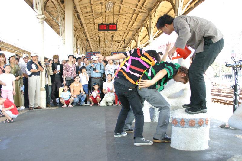 台中火車站裝置藝術