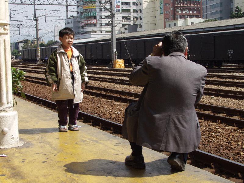 台中火車舊站第二月台拍照