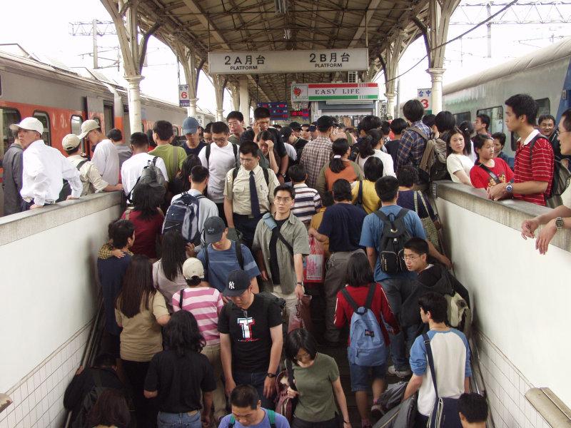 台中火車站第二月台以及販賣部