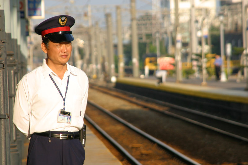 鐵道員台中車站第一月台