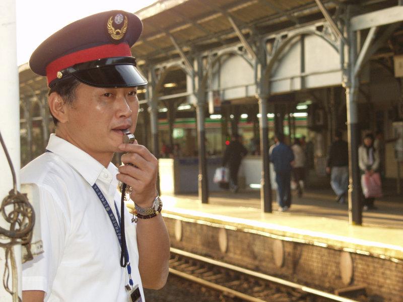 鐵道員台中車站